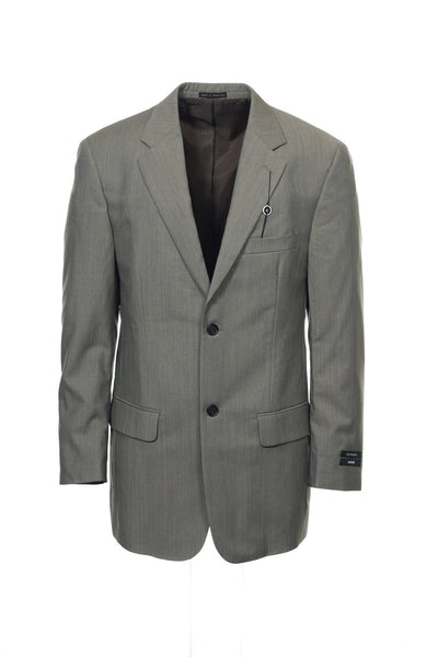 Alfani Mens Gray 2 Button Sport Coat