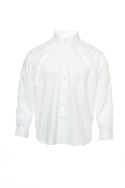 Alfani Mens White Button Down Shirt