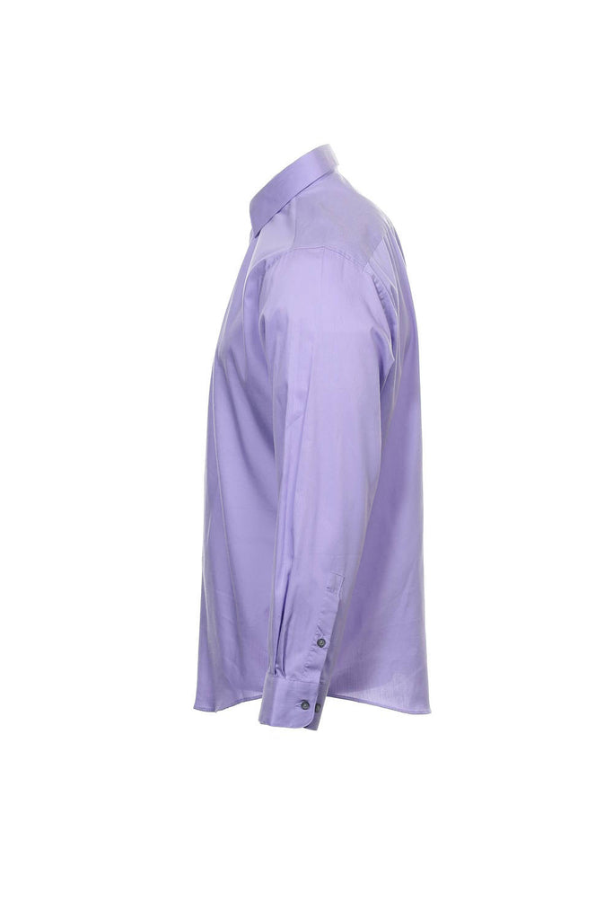 Alfani Mens Light Purple Button Down Shirt