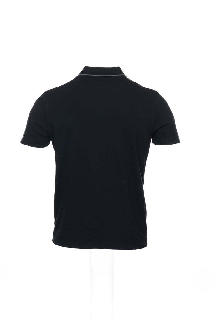 Alfani Mens Black Polo Shirt