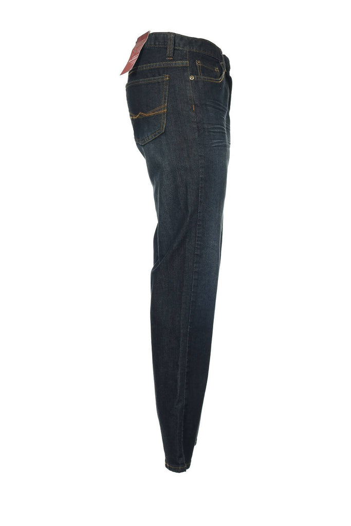 SLIM FIT by Alfani Mens Blue Heather Skinny Fit Jeans