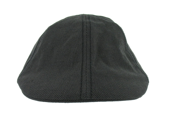 American Rag Mens Black Two Tone Newsboy/Cabbie Hat