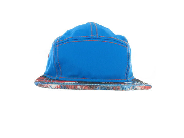 American Rag Mens Blue Abstract Hat