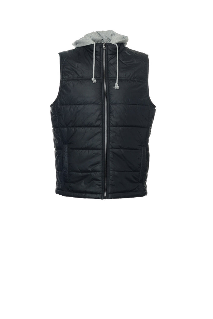 American Rag Mens Black Puffy Vest