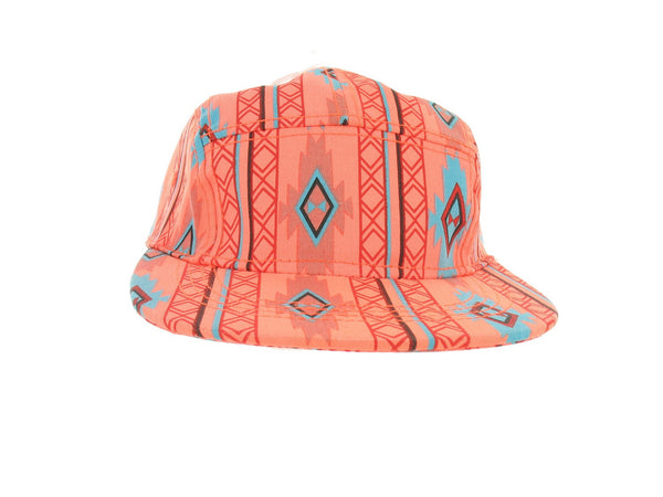 American Rag Mens Orange Abstract Hat