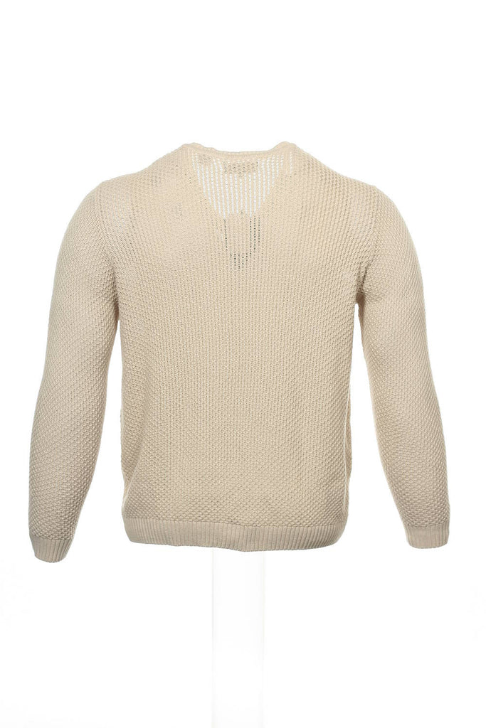 Argyleculture by Russell Simmons Mens Beige Gradient V-Neck Sweater
