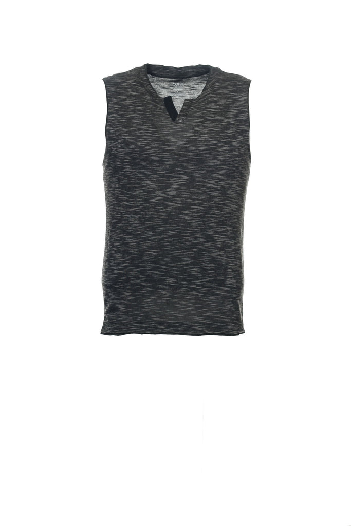 Bar III Mens Gray Heather Tank Top