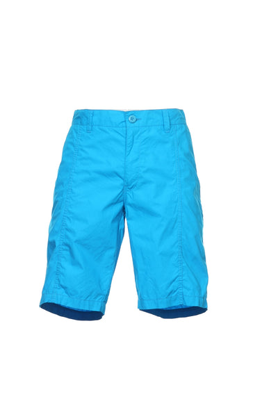 Bar III Mens Blue Flat Front Walking Shorts