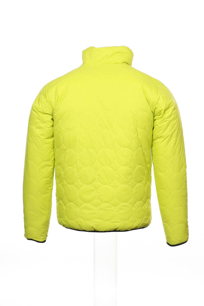 Burton IDIOM Mens Bright Yellow Abstract Insulated Jacket