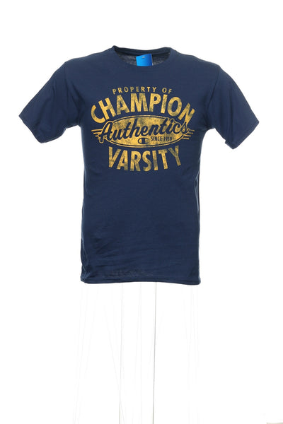 Champion Mens Blue T-Shirt