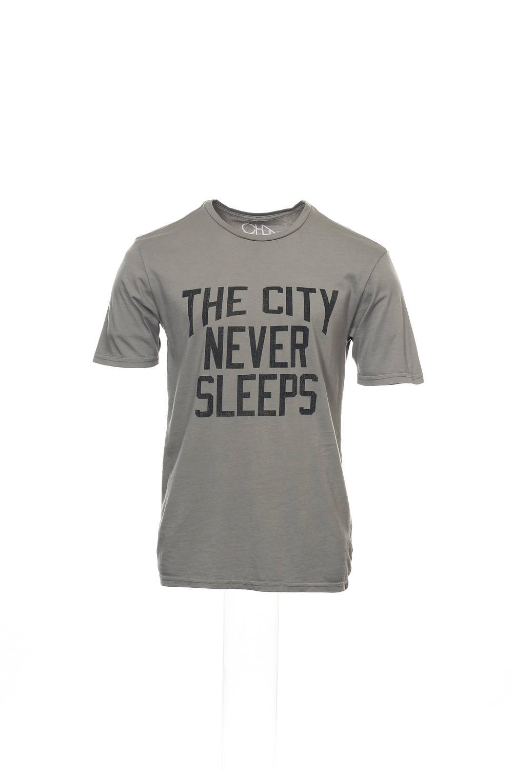 Chaser Mens Gray Graphic T-Shirt