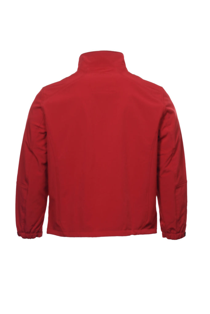 Calvin Klein Mens Red Soft Shell Jacket