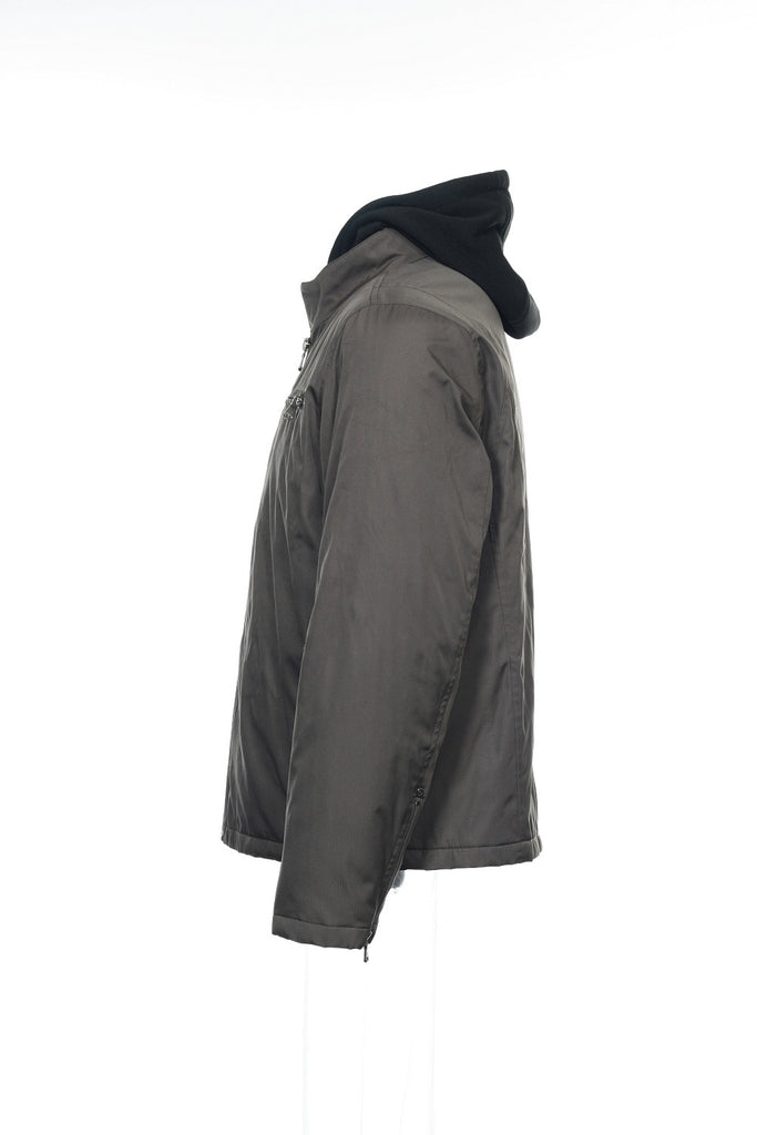 Calvin Klein Mens Gray Rain Jacket