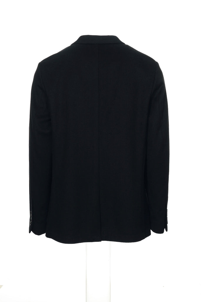 Calvin Klein Mens Black Heather Coat