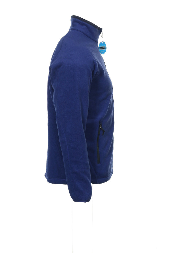 Columbia 'Road 2 Peak' Mens Blue Fleece Jacket