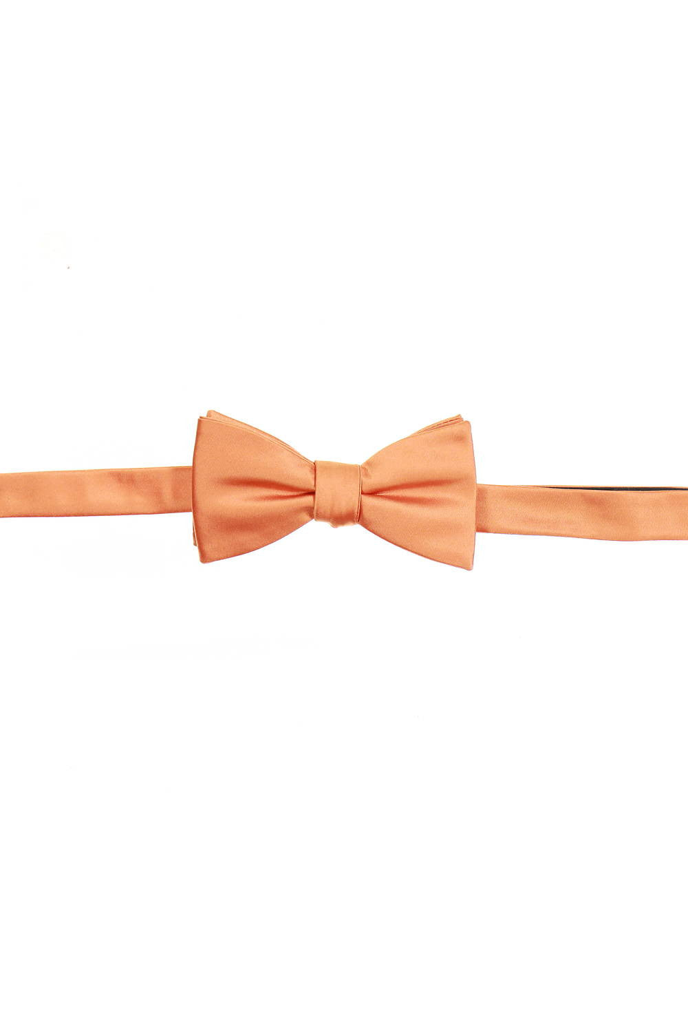 Countess Mara Mens Orange Pre-Tied Bow Tie