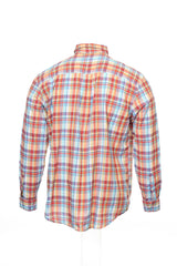 Club Room Mens Multi-Color Plaid Button Down Shirt