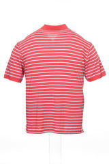 Club Room Mens Red Striped Polo Shirt