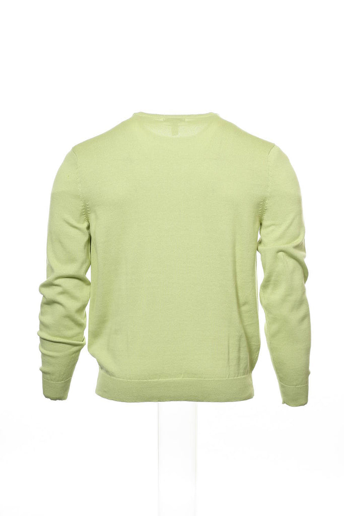 Club Room Mens Light Green Crew Neck Sweater