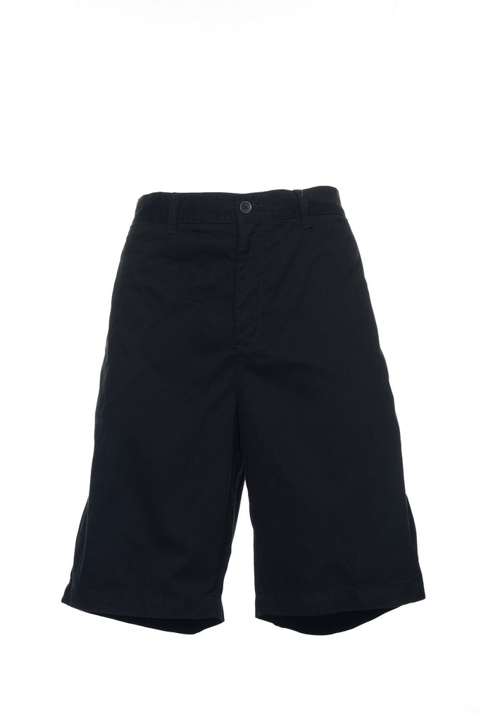 Club Room Mens Black Flat Front Walking Shorts