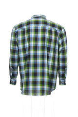 Club Room Mens Multi-Color Checked Button Down Shirt