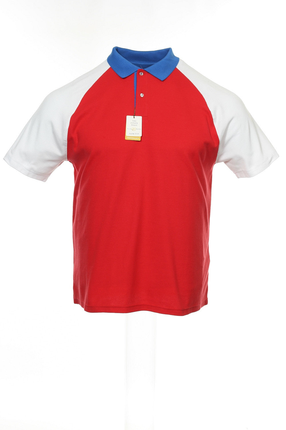 Club Room 'The Estate Polo' Mens Red Heather Polo Shirt