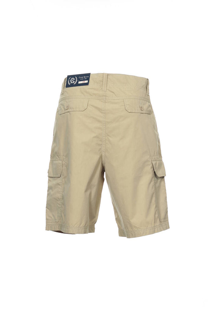 Club Room Mens Beige Cargo Shorts