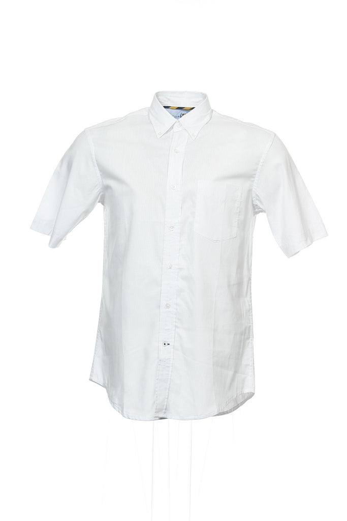 The Estate Shirt by Club Room Mens White Button Down Shirt