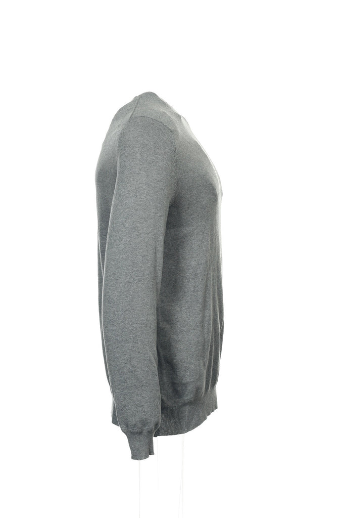 Club Room Mens Gray Heather Crew Neck Sweater