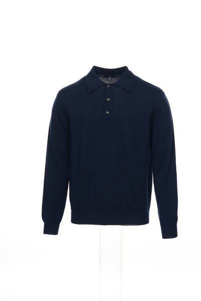 Club Room Mens Blue Polo Shirt