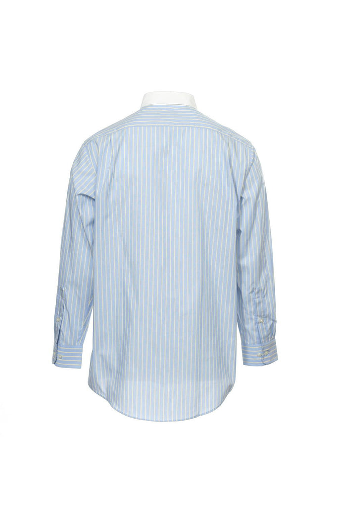 The Estate Dress Shirt by Club Room Mens Blue Button Down Shirt