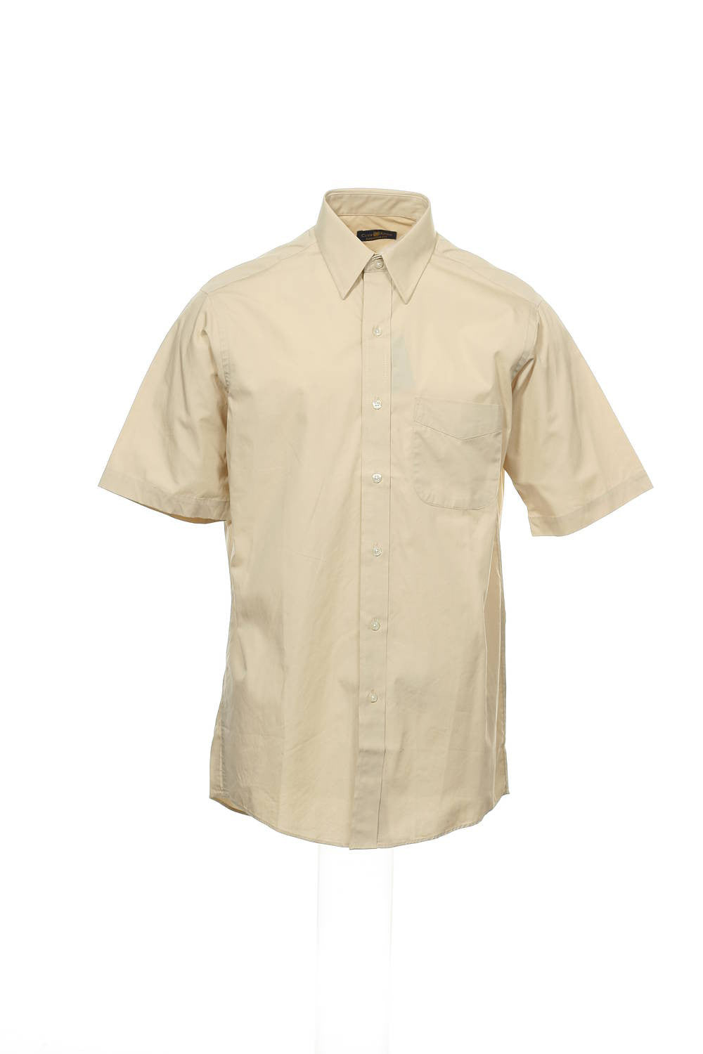 The Estate Dress Shirt by Club Room Mens Khaki Button Down Shirt