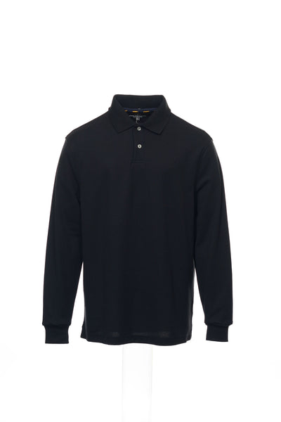 Club Room Mens Black Heather Polo Shirt