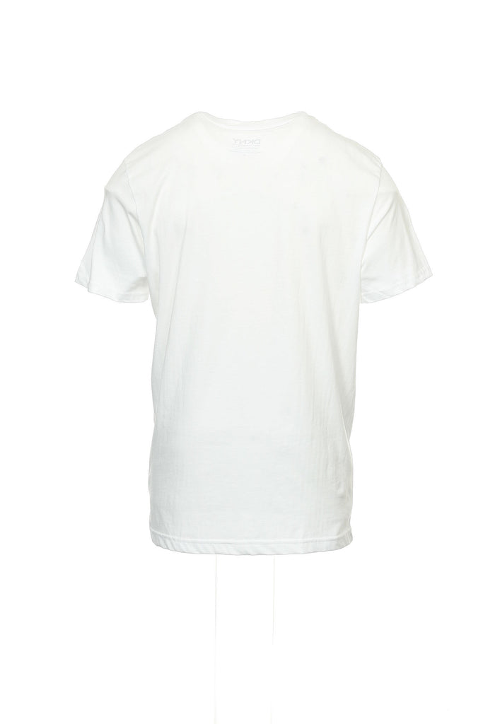 DKNY Mens White Graphic T-Shirt