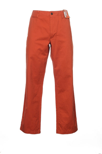 Dockers Mens Red-Orange Chino Pants