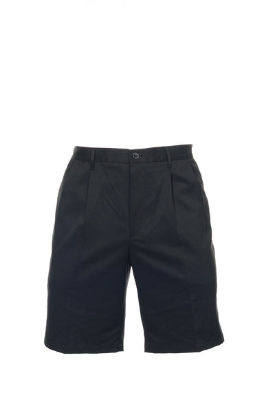 Dockers Mens Black Pleated Walking Shorts