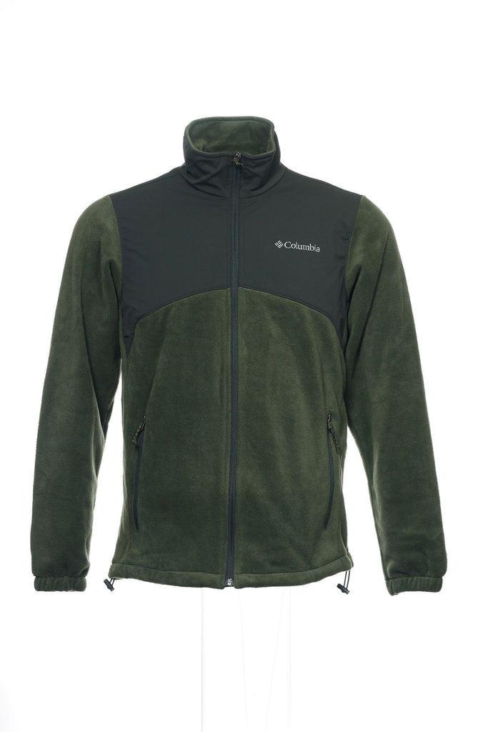 Columbia/Field Gear Mens Green Fleece Jacket