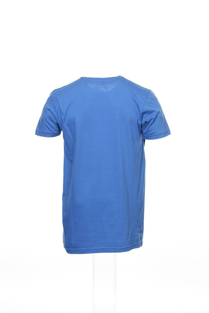 Generic Mens Blue Graphic T-Shirt