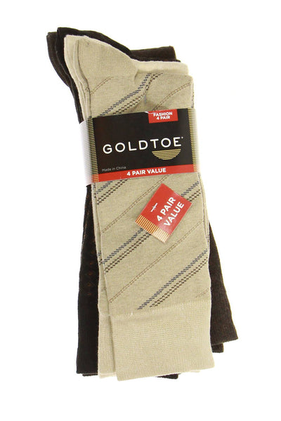 Gold Toe Mens Multi-Color Dress Socks