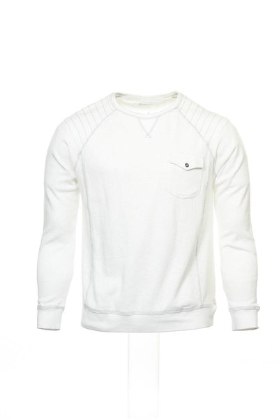 INC International Concepts Men's White Thermal Shirt