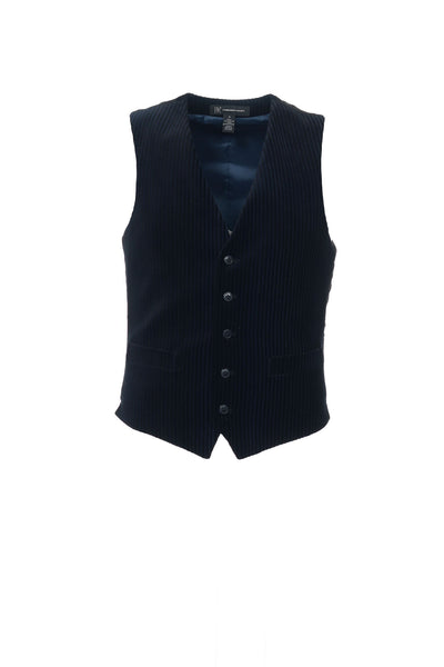 INC International Concepts Mens Black Suit Vest