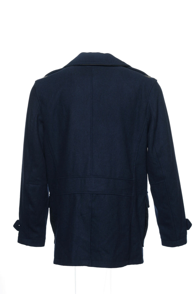 INC Mens Blue Pea Coat