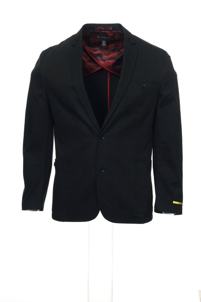 INC International Concepts Mens Black Blazer
