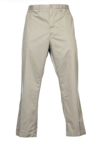 Izod Mens Beige Chino Pants