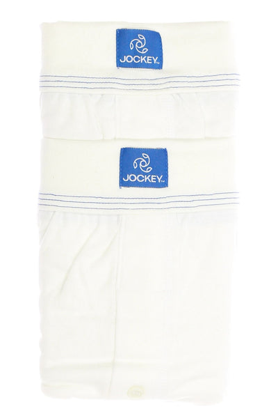 Jockey Mens White Boxers