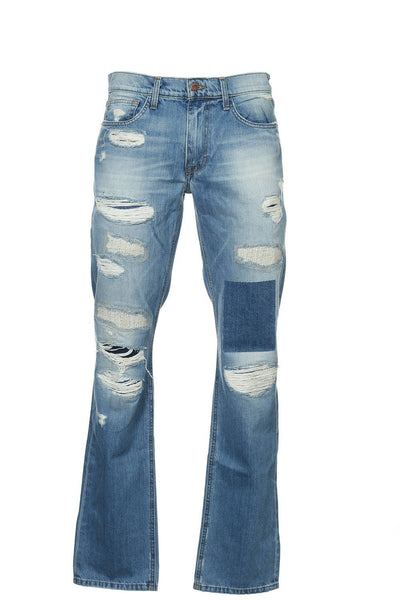 Joe's Jeans 'The Brixton' Mens Light Blue Heather Straight Leg Jeans