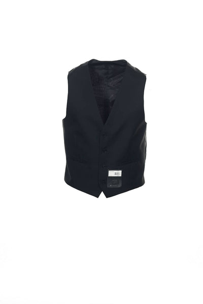 M151 Mens Black Suit Vest
