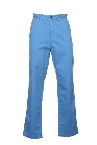 The Deck Pant by Nautica Mens Blue Chino Pants