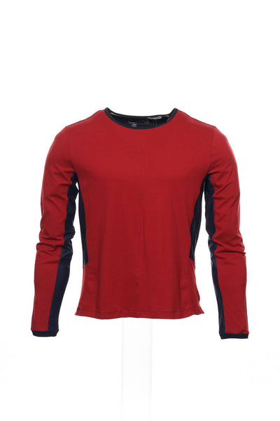 Number Lab Mens Red Heather T-Shirt