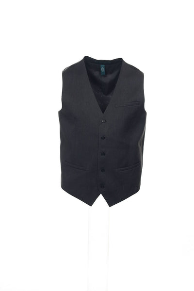 Perry Ellis Mens Gray Heather Suit Vest